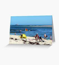 Beach & Bar Greeting Card