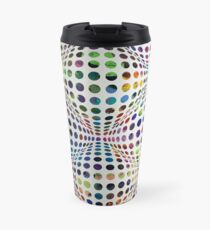Homage (To Victor Vasarely) Travel Mug