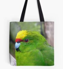 I Have A Snazzy Yellow & Red Cap! - Kakariki - NZ Tote Bag