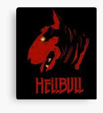 Devilish bull Canvas Print