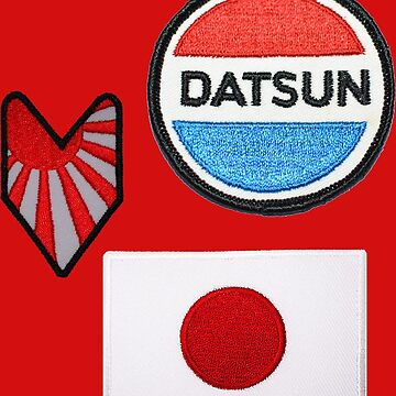 Datsun Patches by jacqs