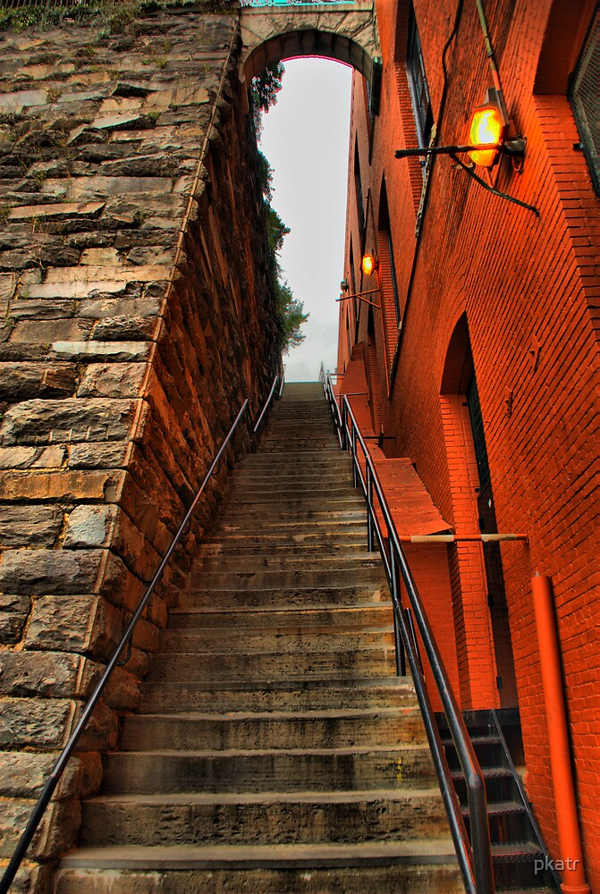 The Exorcist  Stairs  by pkatr