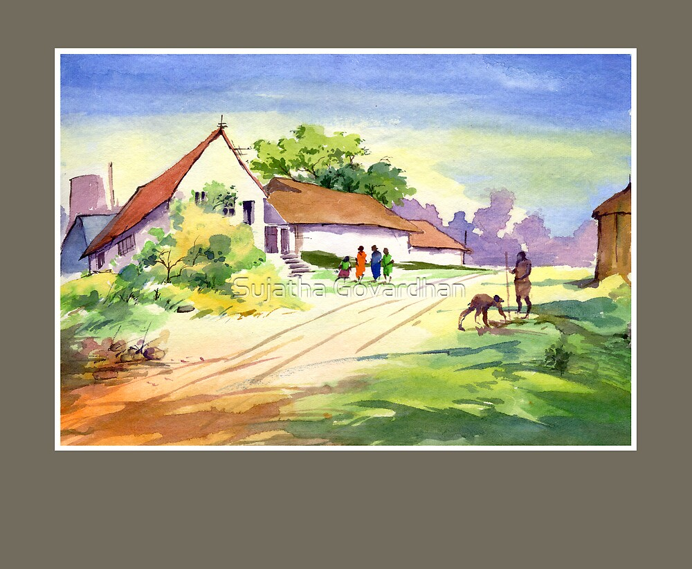 WaterColour 1 by Sujatha Govardhan