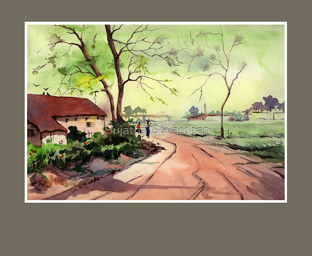 WaterColour 2 by Sujatha Govardhan