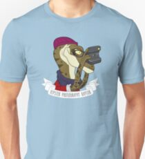 Hipster Photography Raptor Unisex T-Shirt