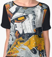 Gundam Women's Chiffon Top
