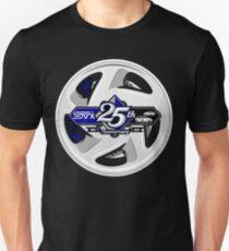 Subaru Svx Stock Wheel 25th Anniversary request Unisex T-Shirt