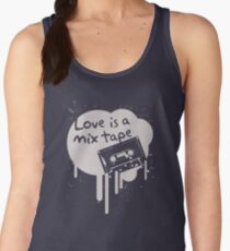 Love Is A Mix Tape... Women's Tank Top