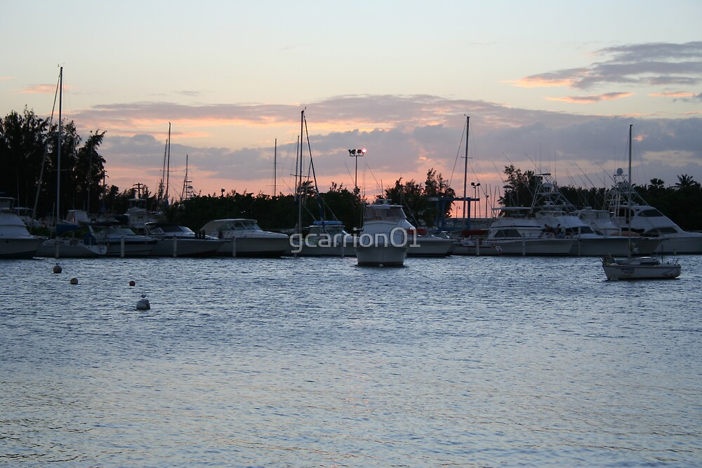 Ponce Bay Sunset by gcarrion01