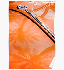 Volkswagen VW Bug - Beetle Emblem -0164c Poster
