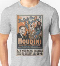 Houdini - vintage theater poster Unisex T-Shirt
