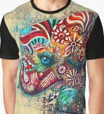 Vintage Elephant TShirt Graphic T-Shirt
