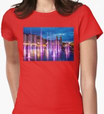 Fountains of the Post Square Womens Fitted T-Shirt