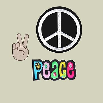 Groovy Peace Patches by jacqs