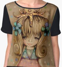 The Girl and the Octopus Women's Chiffon Top