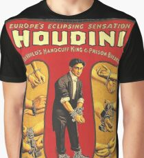 Houdini, vintage theater poster - color Graphic T-Shirt
