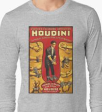 Houdini, vintage theater poster - color T-Shirt