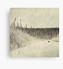 Walking Luna Canvas Print