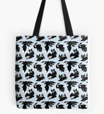 Toothless pattern Tote Bag