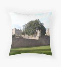 Witton Castle Throw Pillow