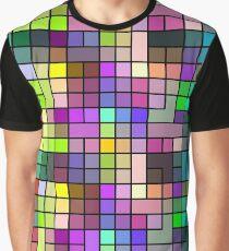 Geometric Pixel Art - 15 Graphic T-Shirt