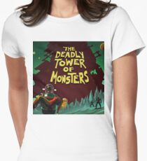The Deadly Tower of Monsters Class Womens Fitted T-Shirt