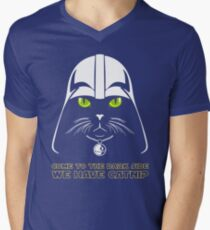 Come to the Dark Side Mens V-Neck T-Shirt