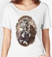 Zombie Couple Living Togather Forever Women's Relaxed Fit T-Shirt