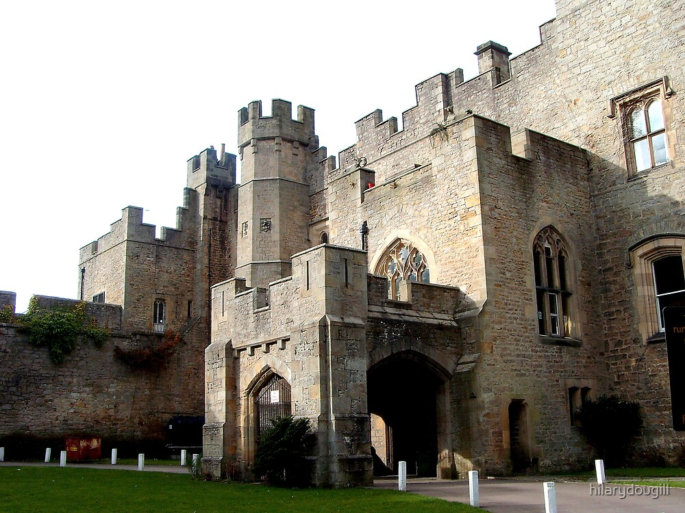 Frontside view of the Castle by hilarydougill
