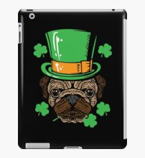 Irish Pug Dog Lover Shirt iPad Case/Skin