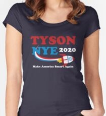 Tyson Nye Women's Fitted Scoop T-Shirt