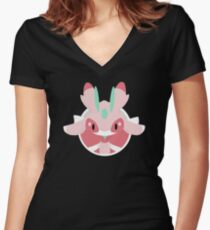 Lurantis Icon Women's Fitted V-Neck T-Shirt