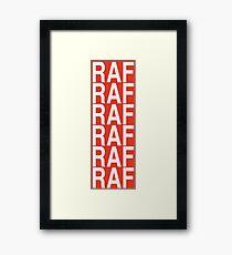 RAF A$AP Mob Framed Print