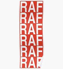 RAF A$AP Mob Poster