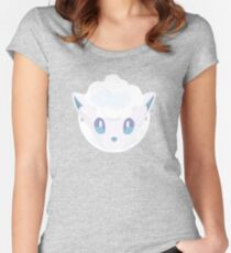 Alolan Vulpix Icon Women's Fitted Scoop T-Shirt