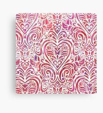 Let Love Flourish Canvas Print