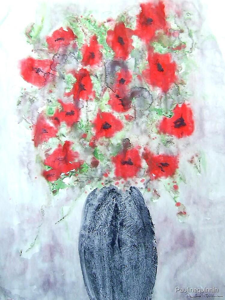 Poppies by Paulinequinnin