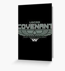 Covenant logo Greeting Card