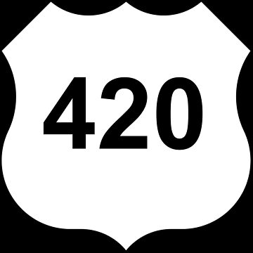 420 ROAD SIGN by k-nadclothing