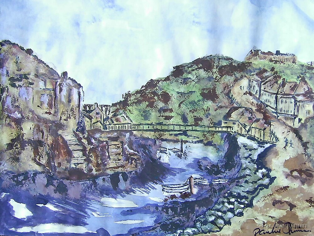 Staithes N. Yorkshire by Paulinequinnin