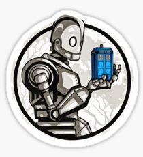 the iron giant Sticker