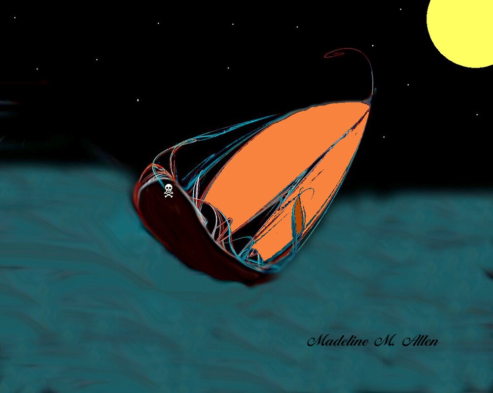 ROUGH SEAS by Madeline M  Allen