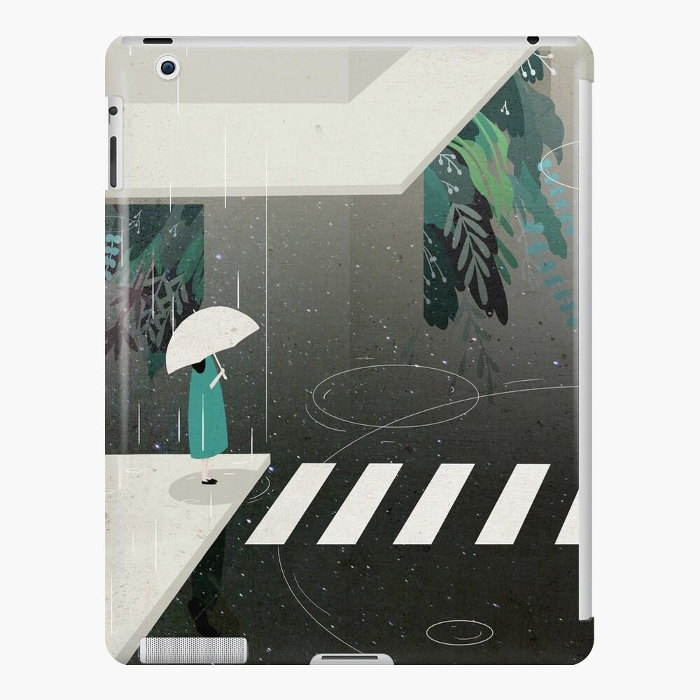 deja que llueva Funda y vinilo para iPad