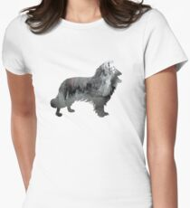 Border Collie Women's Fitted T-Shirt