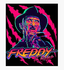 Freddy Krueger StayRad! Photographic Print