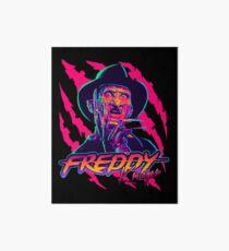 Freddy Krueger StayRad! Art Board