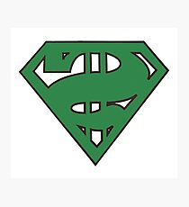 super senate in original green Photographic Print