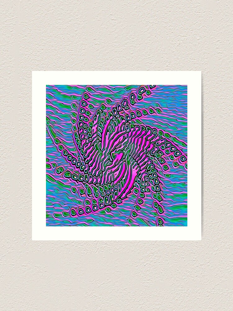 Alternate view of Alien Art Print