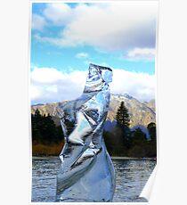 Minus 5 Ice - Queenstown New Zealand Poster