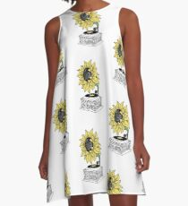 Singing in the sun A-Line Dress